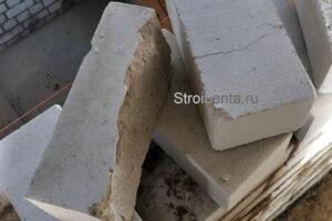 Дефекты кирпича силикатного
